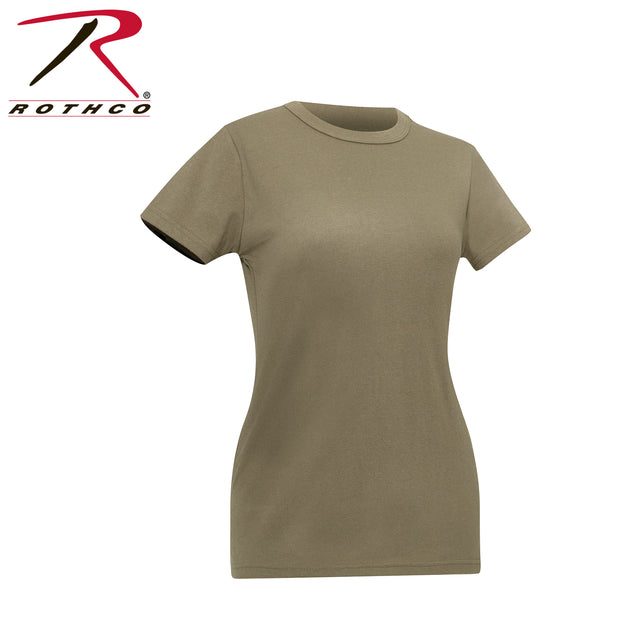 Womens Longer T-shirt - Coyote Brown