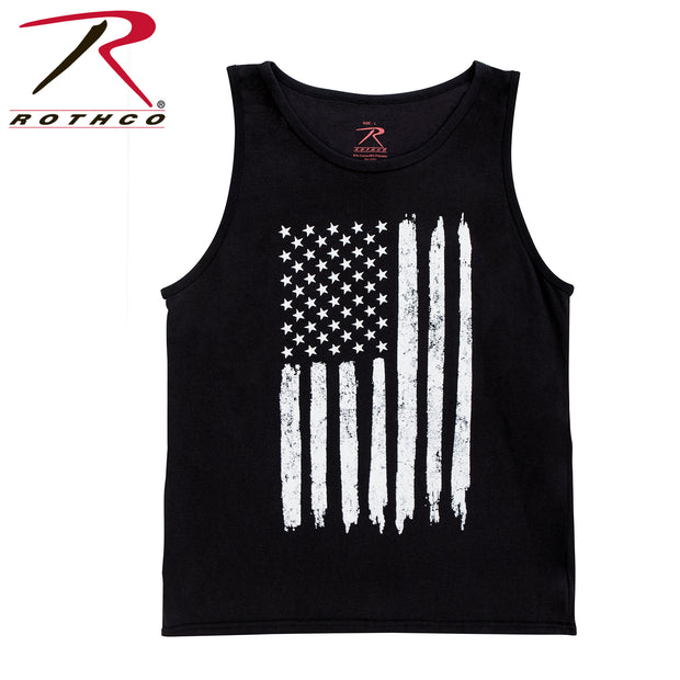 Distressed U.S. Flag Tank Top
