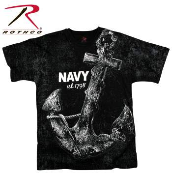 Vintage 'Navy Anchor' T-shirt
