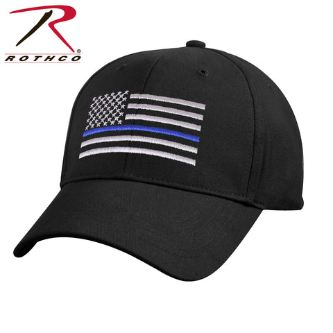 Kids Low Profile Thin Blue Line Flag Cap