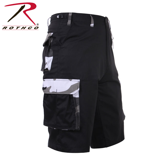 Camo Accent Shorts