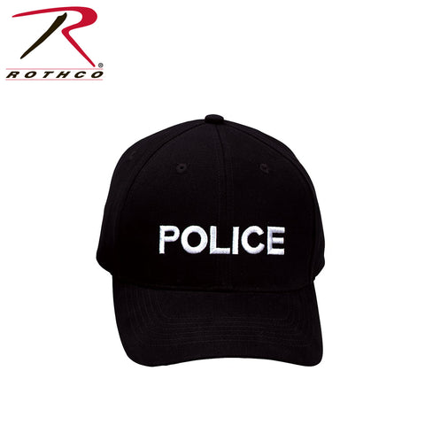Police Supreme Low Profile Insignia Cap