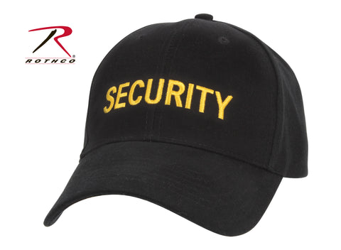 Security Supreme Low Profile Insignia Cap