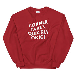 Corner Taken Quickly Anti Social Liverpool Sweatshirt-Kop Clobber
