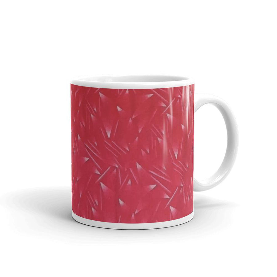 Retro Liverpool Kit Pattern Mug-Kop Clobber