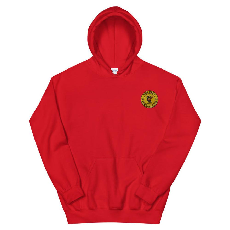 The Reds - Fusball Club Hoodie-Kop Clobber-lfc-store-unofficial-liverpool-shop