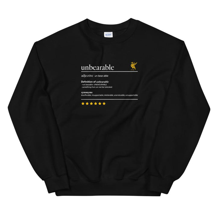 Unbearable Liverpool Sweatshirt-Kop Clobber-lfc-store-unofficial-liverpool-shop