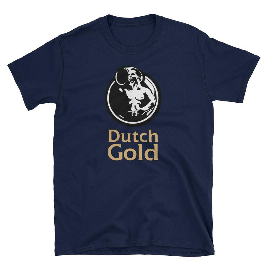 Van Dijk 'Dutch Gold' Liverpool T-Shirt-Kop Clobber
