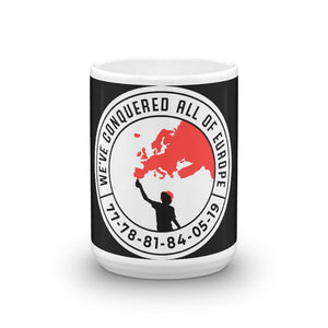 We've Conquered all of Europe Liverpool Mug-Kop Clobber