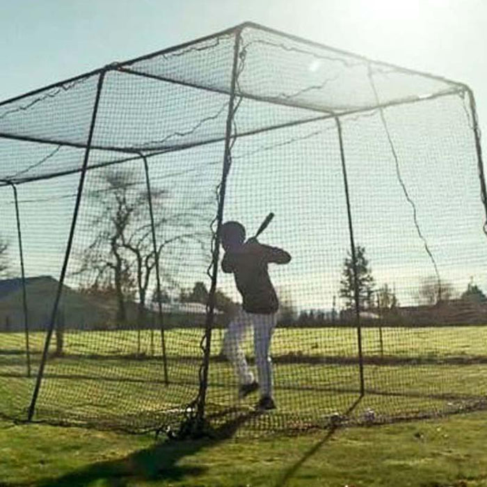 How Big Does a Backyard Batting Cage Need To Be?