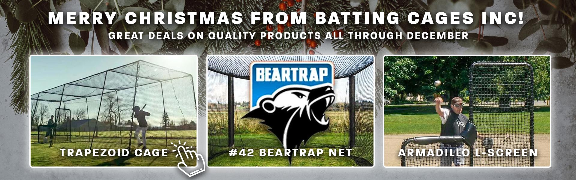 Batting Cages Inc Christmas Sales