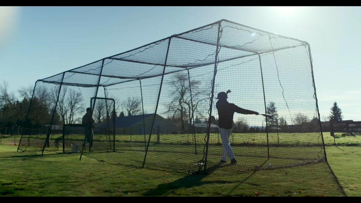 Kvx200 Batting Cage Netting Batting Cages Inc