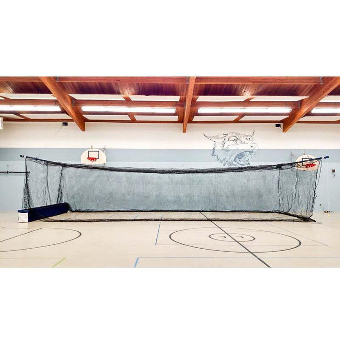 The WOMBAT Retractable Batting Cage (Multi-Use Facility System) 35'