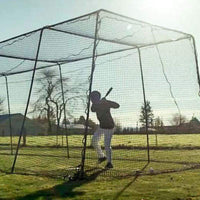Freestanding Trapezoid Premium Batting Cage Package Deal