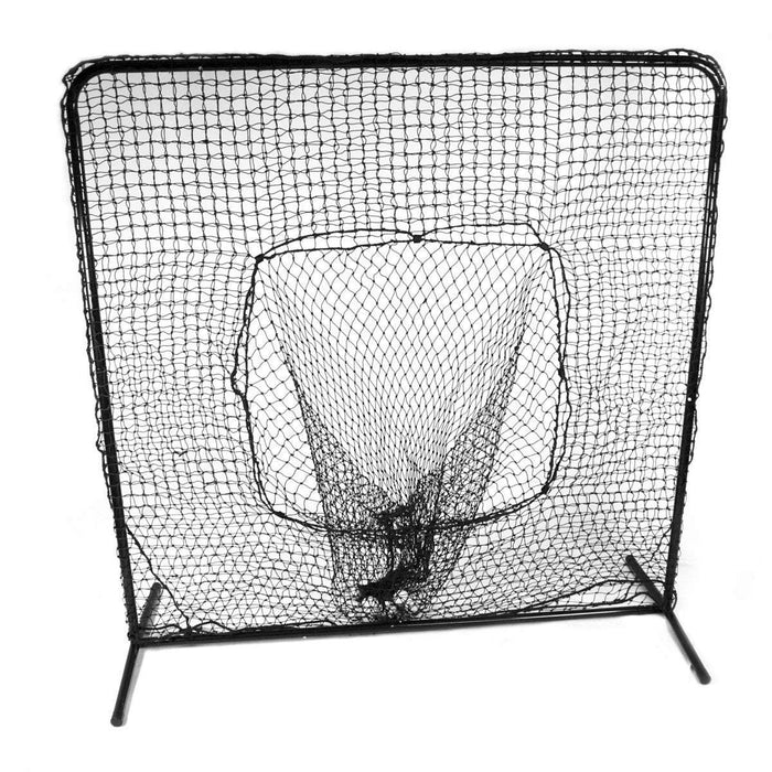 7x7 Soft Toss Catch Net & Frame Frame & Net
