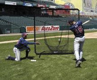 7ft x 7ft Soft Toss Catch Net & Frame
