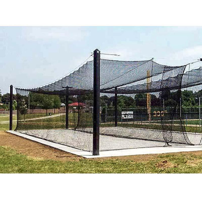 BATTING CAGES INC Mastodon 12'H x 12'W x 55'L / Single Mastodon™ Engineered Batting Cage System