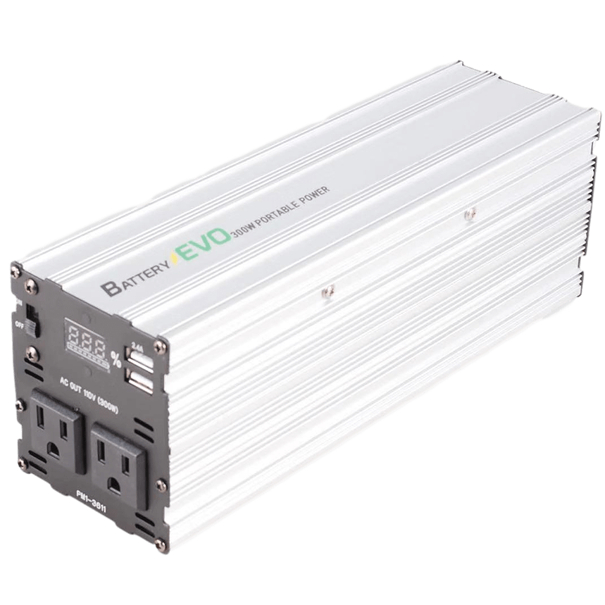 300W Slim Portable Power Station 110 V / 60Hz