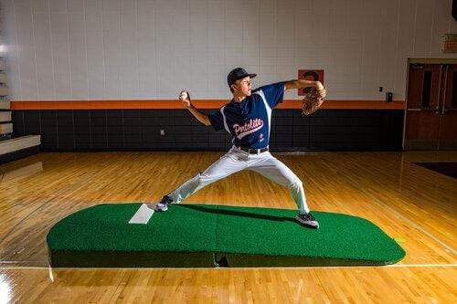 2 Piece Indoor Practice Mound with Turf