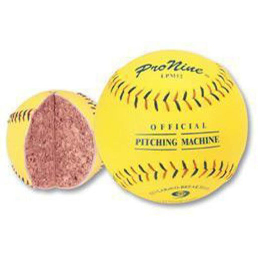 PRO NINE Balls LPM12 Low Seam Softball (12 Pack)