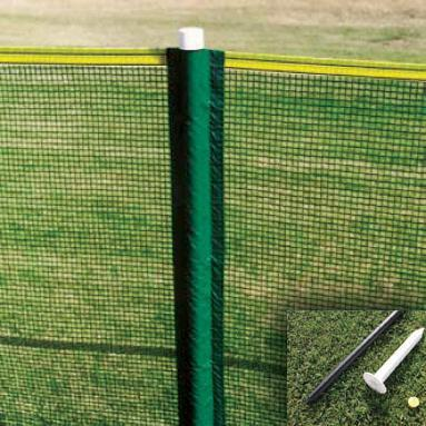 Enduro Homerun Fence Package 200' Enduro Homerun Fence System w/ 32 poles (actually 314' of fence)