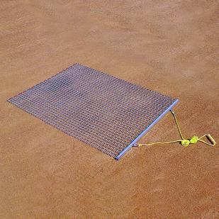 Professional All Steel Drag Mat (Includes Drag Bar & Rope) 3' W x 4' L
