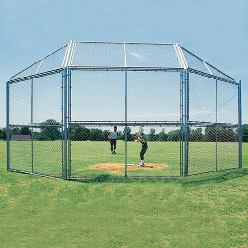 Chain Link Backstop (Select Options) Chain Link Backstop – 3 Panels Wide x 2 Panels High