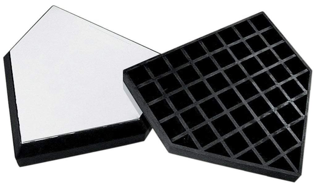 Waffle-Style In-Ground Home Plate (Official Size)