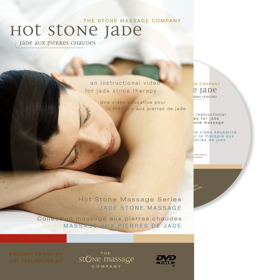 DVD - Hot Stone Jade Full Body, Digital download or physical DVD option