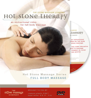 DVD - Hot Stone Basalt Full Body, digital download or physical DVD option