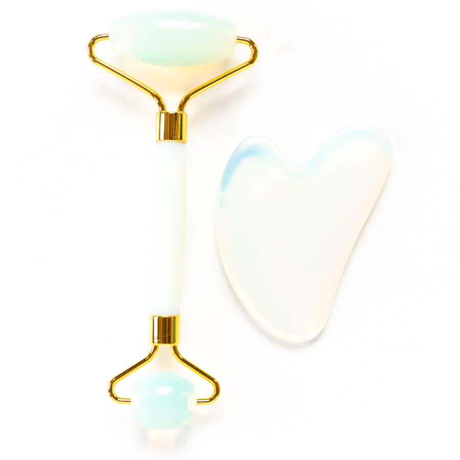 NEW! Roller & Gua Sha Set - Opal