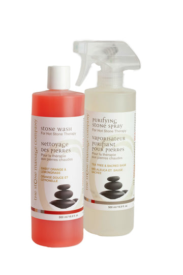 Stone Care Combo Kit - 500 ml Stone Wash & Purifying Stone Spray