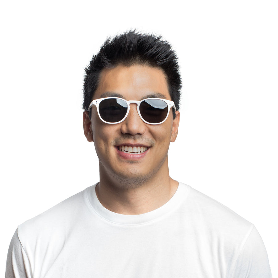 Rocket MTO P3 Classic White with Grey Polarized Lenses (Launch Edition)