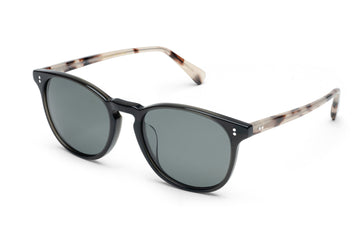 Rocket MTO P3 Classic Charcoal Black & Smoky Tortoise with Grey Polarized Lenses (Tortoise Returns)