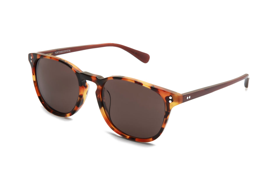 [Custom] Gillian's Mum's Rocket MTO P3 Classic Caramel Tortoise & Sienna with Blue-Light-Blocking Lenses (Tortoise and Crystal)