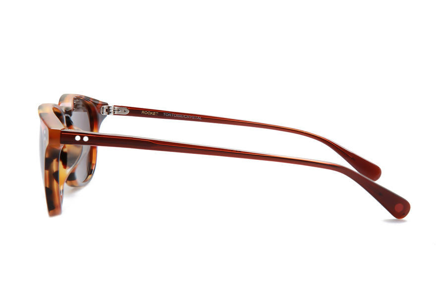 Rocket MTO P3 Classic Caramel Tortoise & Sienna with Brown Polarized Lenses (Tortoise and Crystal)