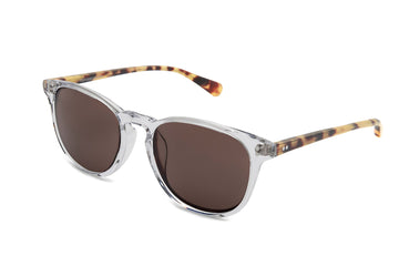 Rocket MTO P3 Classic Crystal & Blonde Tortoise with Brown Polarized Lenses (Tortoise and Crystal)