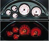 RX7 FD3S Mazdaspeed Sports Driving Meter