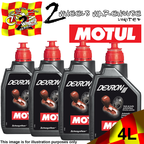 1L-4L MOTUL DEXRON III 3 AUTOMATIC GEARBOX OIL POWER STEERING FLUID
