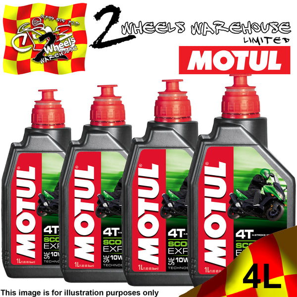 1L-4L MOTUL 4T SCOOTER EXPERT SAE 10W40 MA SEMI SYNTHETIC ENGINE OIL