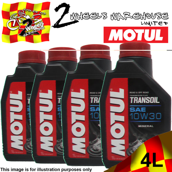 1L-4L MOTUL TRANSOIL SAE 10W30 2 / 4 TWO FOUR STROKE GEAR BOX OIL FLUID