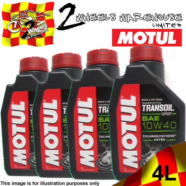 1L-4L MOTUL TRANSOIL 10W40 EXPERT TWO FOUR STROKE GEAR BOX OIL FLUID