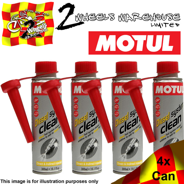 1x-4x 300ml MOTUL DIESEL SYSTEM CLEAN CLEANER FUEL ADDITIVE