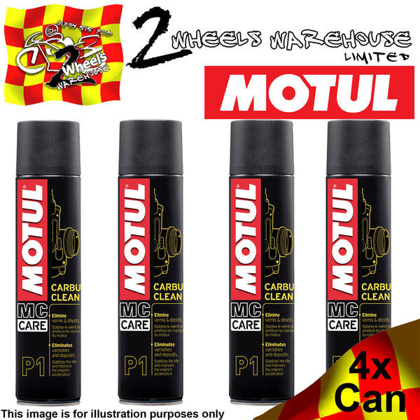 1x-4x 400ml MOTUL P1 CARBU CLEAN CARB CLEANER