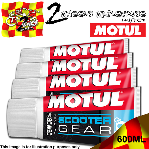 1-4 150ML MOTUL SAE 80W 90 SCOOTER GEAR MOPED MINERAL FLUID OIL