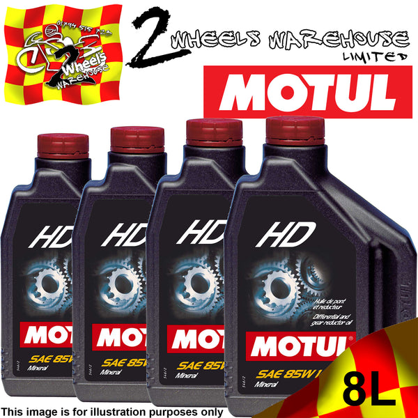 2L-8L MOTUL HD SAE 85W140 HYPOID DIFFERENTIAL FLUID MINERAL GEARBOX OIL