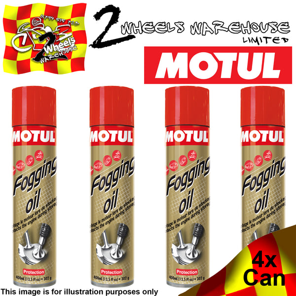1x-4x 400ml MOTUL FOGGING OIL WINTER MOTOR STORAGE PROTECTION
