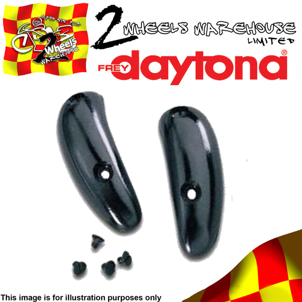 DAYTONA BOOTS REPLACEMENT PLASTIC TOE SLIDERS TRACKDAY RACE BOOT