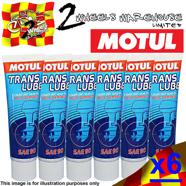 1-6 270ml MOTUL TRANSLUBE SAE90 OUTBOARD BOAT PROPELLER BOX GEAR OIL
