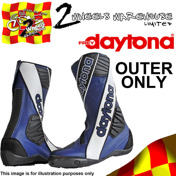 DAYTONA SECURITY EVO III 3 BOOTS BLUE OUTER SIZE EU 42 UK 8 TRACKDAY RACE